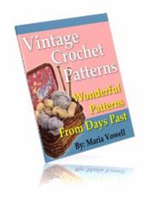 Product picture 121 Quality Vintage Crochet Patterns