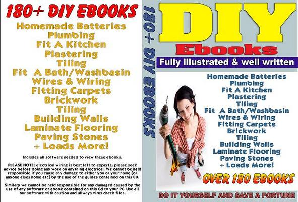 Product picture Complete 180+ DIY Ebooks Collection for All Trades