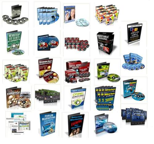 Product picture 25 Premium Video Training Course Collection w/ Resell Rights