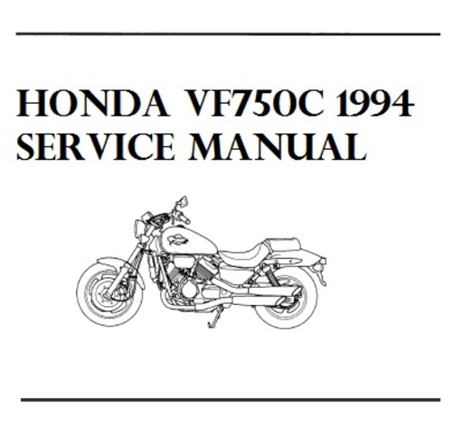 Product picture Honda Magna VF750C/CD Motorcycle Service Manual 1994